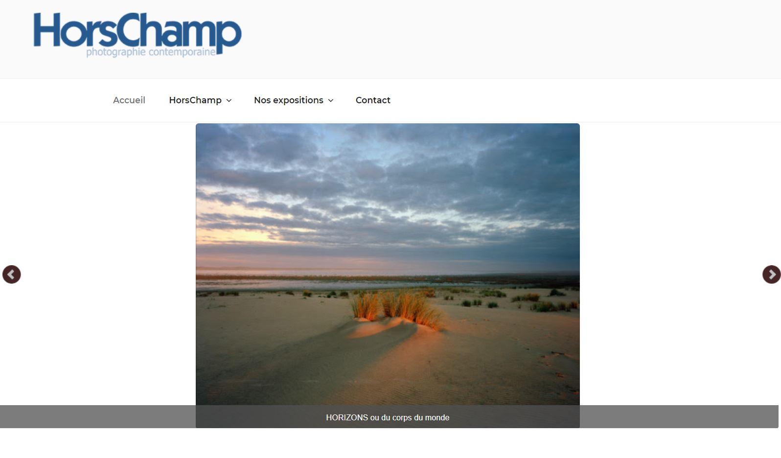 Site d'une association sur la photographie d'art
