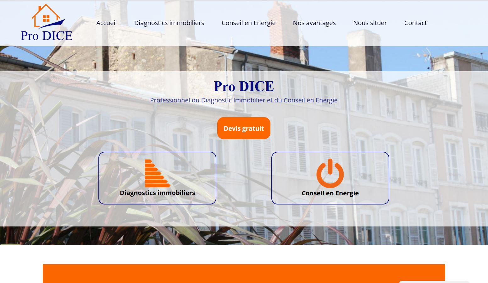 ProDICE.fr : Diagnostics Immobiliers et Conseil en Energie en Lorraine